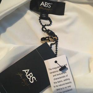 ABS Allen Schwartz Dresses - ❤️SALE❤️NWT Abs white and black striped gown